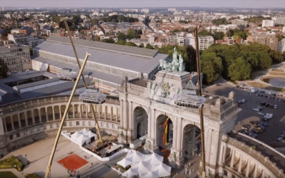 Réserve Royale at Dinner in the Sky Brussels 2017