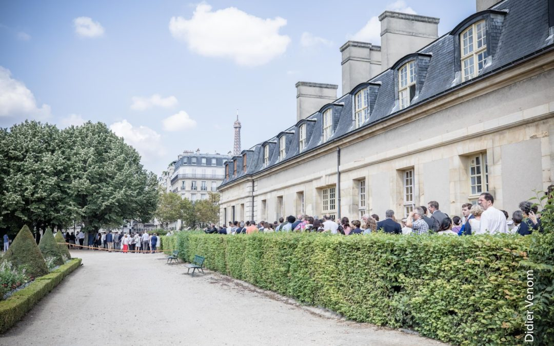 Réserve Royale at the Ambassador Te Deum Garden Party in Paris // July 21, 2018