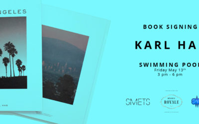 Karl Hab '24h Los Angeles' Book signing @ Swimming Pool on the 13th of May 2016