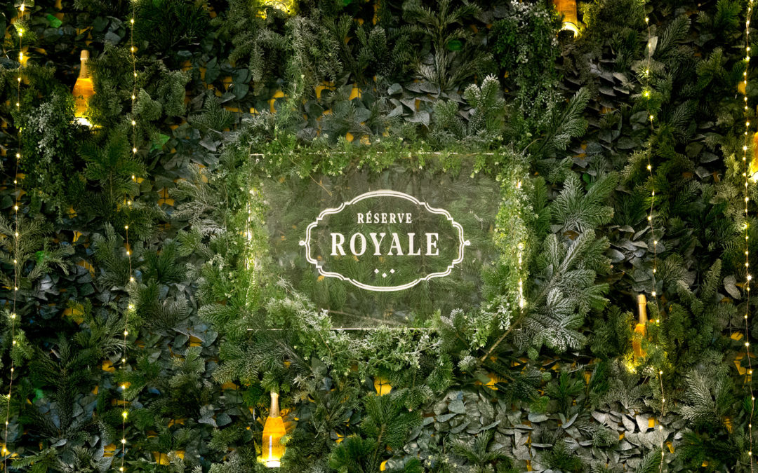 Réserve Royale Christmas Display at SMETS Luxembourg